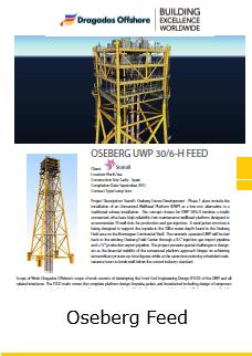 Fact Sheet Oseberg FEED