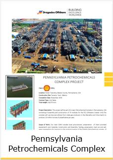 Fact Sheet Pennsylvania Petrochemicals Complex