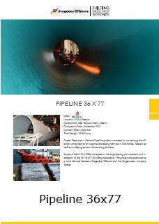 Fact Sheet Pipeline 36 X 77