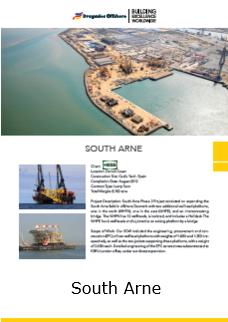 Fact Sheet South Arne